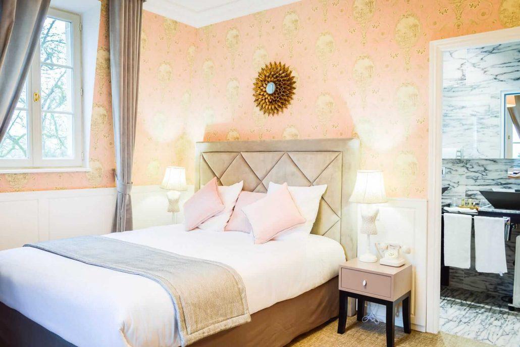 Les jardins d 39 picure hotel romantique restaurant for Chambre hotel romantique