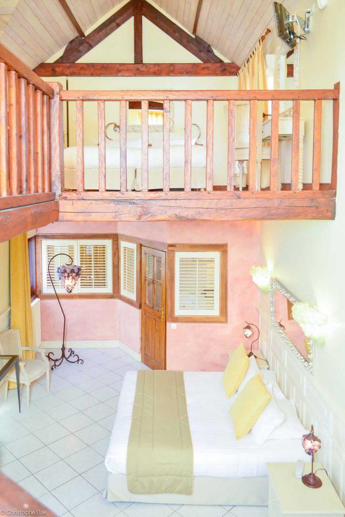Suite licorne les jardins d 39 picure for Reservation d une chambre